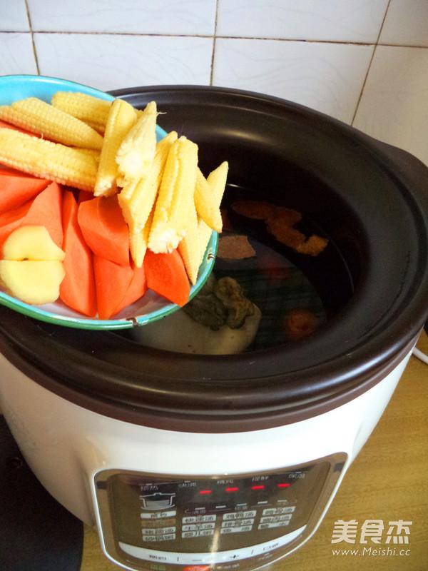 苏泊尔·陈皮莲子猪肚汤怎么做
