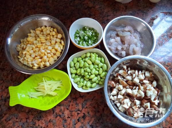 蔬菜虾仁粥的家常做法