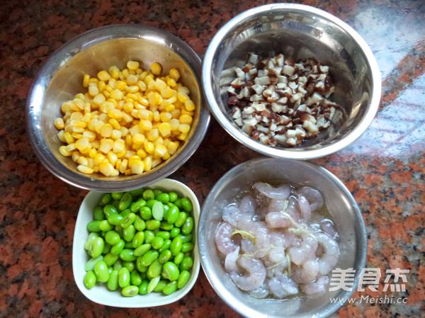 蔬菜虾仁粥的简单做法