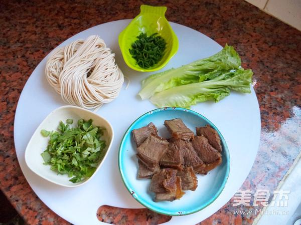 卤牛肉面的简单做法