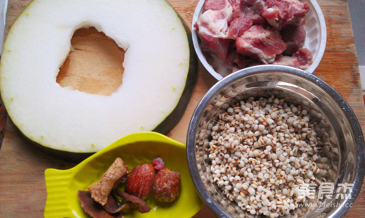 冬瓜薏米猪骨汤的做法大全