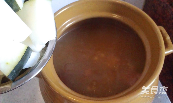 冬瓜薏米猪骨汤怎么煮