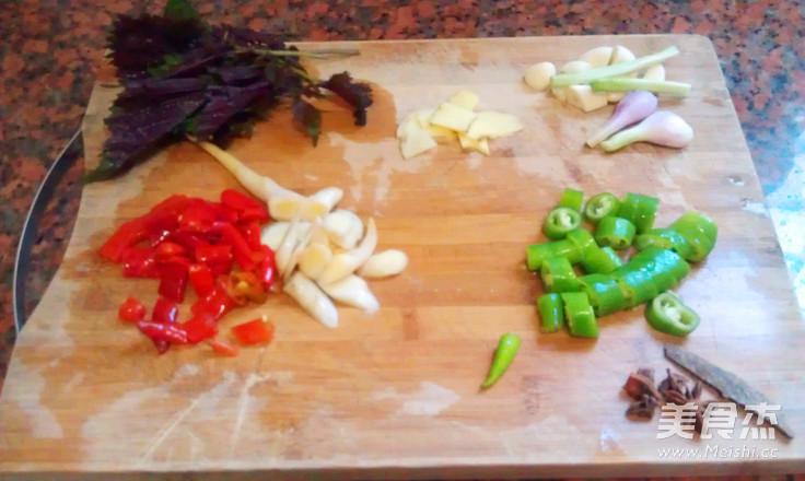 紫苏炒螺的简单做法