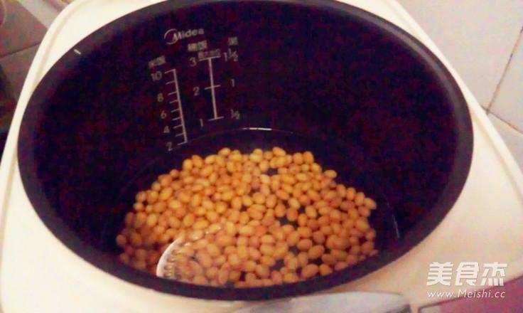 豆豉辣椒炒黄豆的做法图解
