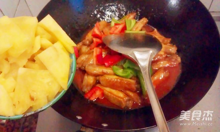 菠萝鸡翅中怎么煮