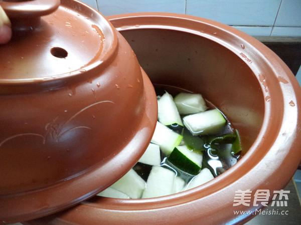 冬瓜海带汤怎么做