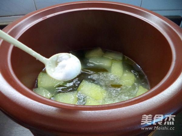 冬瓜海带汤怎么炒