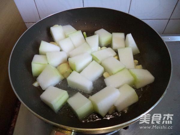 五香烧冬瓜的家常做法