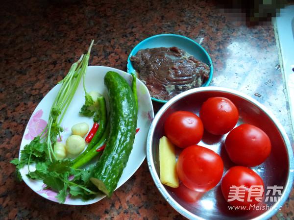 番茄牛肉粒的做法大全