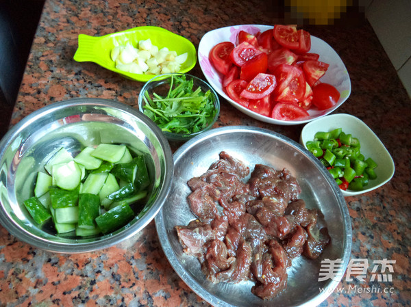 番茄牛肉粒的做法图解