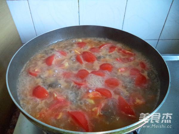 番茄牛肉粒怎么吃