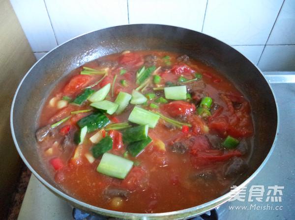 番茄牛肉粒怎么炒