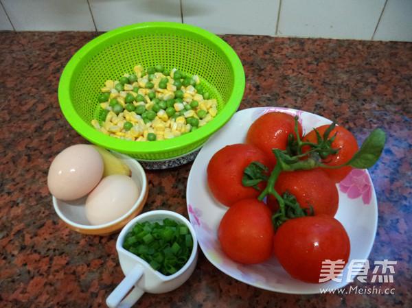 番茄豌豆鸡蛋浓汤的做法大全