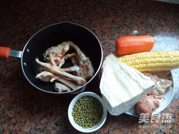 粉葛绿豆猪骨汤的做法大全
