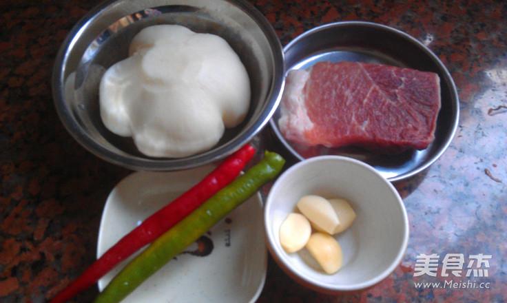 凉薯炒肉的做法大全