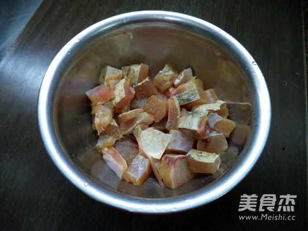 蒜香辣鱼块的做法图解
