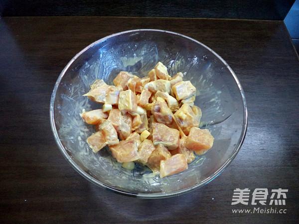 蒜香辣鱼块的简单做法