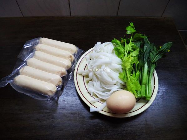 鱼籽肠汤河粉的做法大全