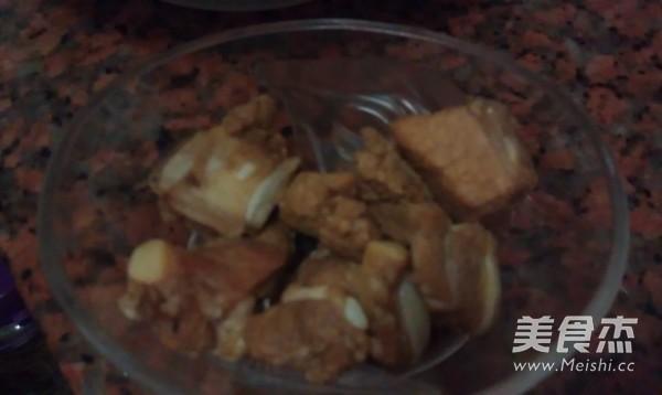 菜干排骨粥的家常做法