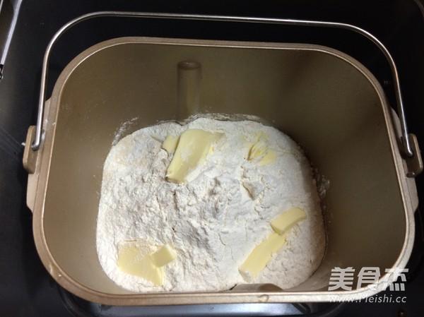 面包机版南瓜糯米面包的家常做法
