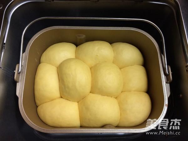 面包机版南瓜糯米面包怎么煸