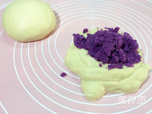 紫薯面包的做法图解
