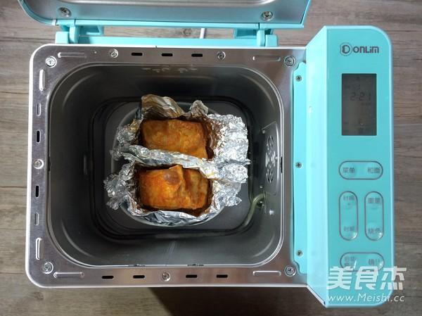 面包机版香烤五花肉怎么炒