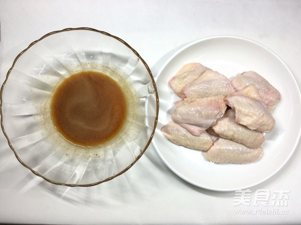 蜜汁烤鸡翅的做法图解