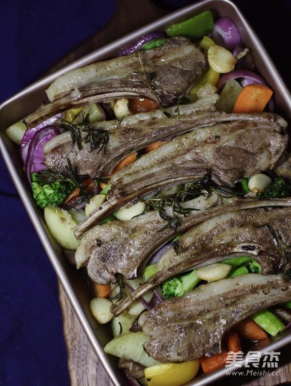 迷迭香杂蔬烤法式羊排怎样炖
