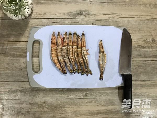 迷迭香芝士烤对虾的做法大全