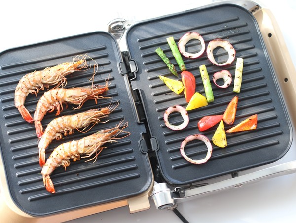 煎烤迷迭香大虾怎么炒