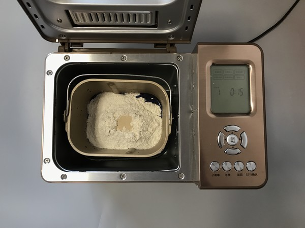 面包机版星空面包的家常做法