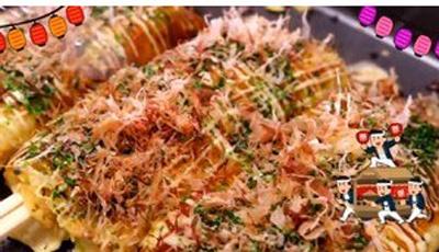 布橹糕饮之筷子卷大阪烧怎么炒