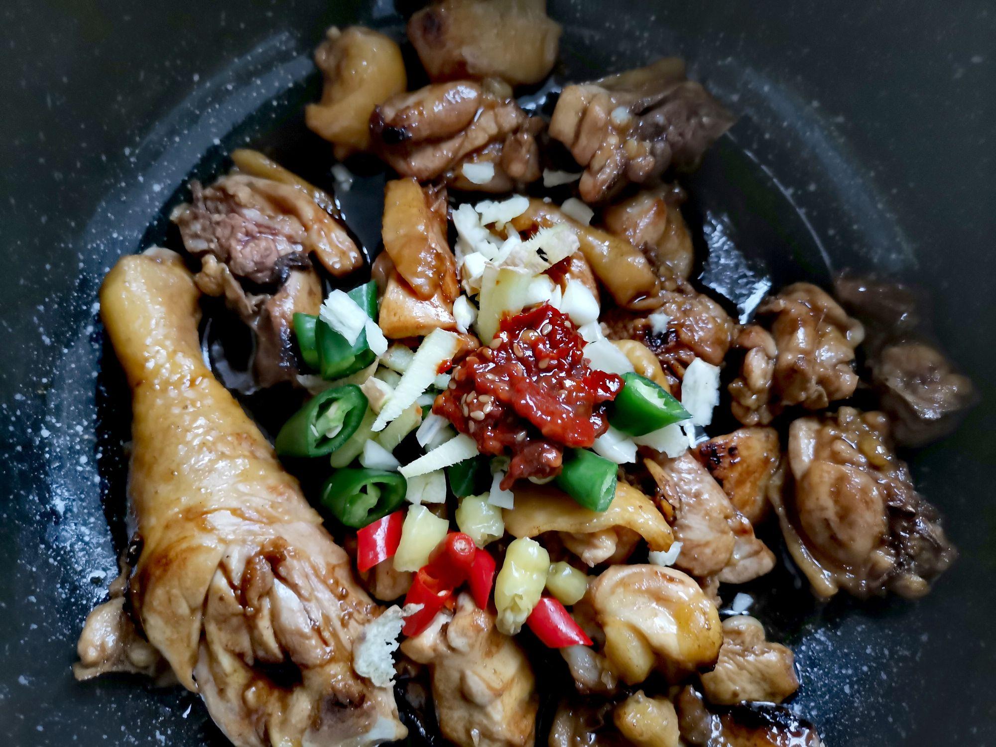 电锅大盆鸡,电锅大盆鸡的家常做法