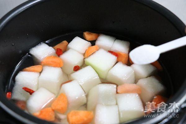 冬瓜山药汤的家常做法