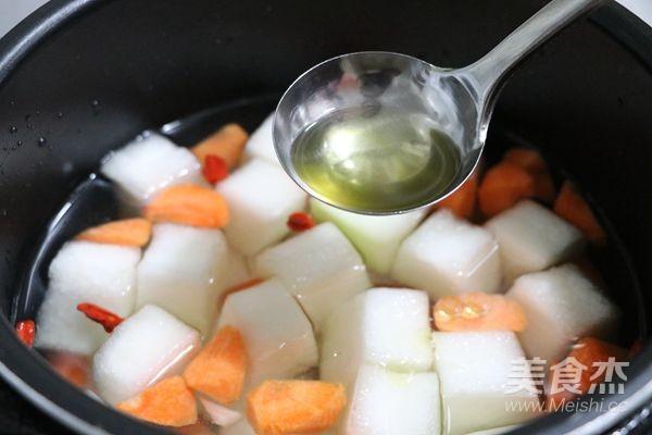 冬瓜山药汤的简单做法