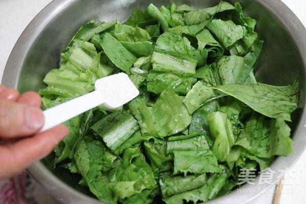 炝拌油麦菜的简单做法