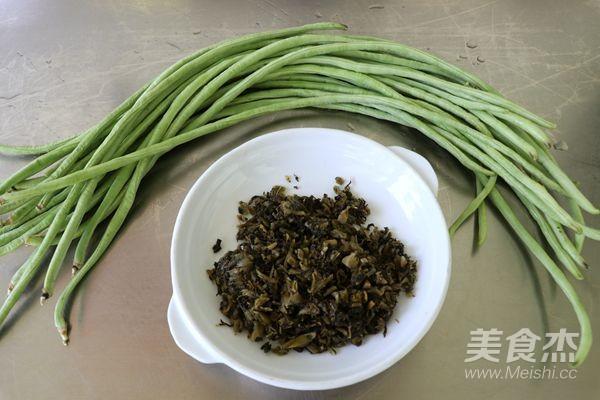 豇豆冬菜的做法大全