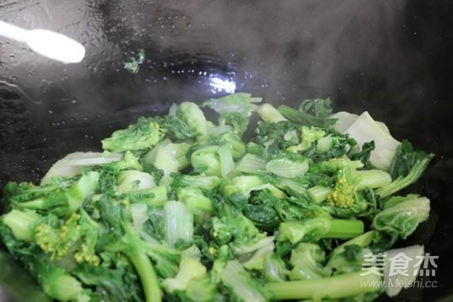 焯水菜心的简单做法