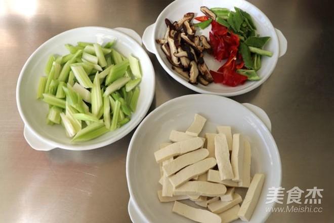 芹菜豆腐的做法图解