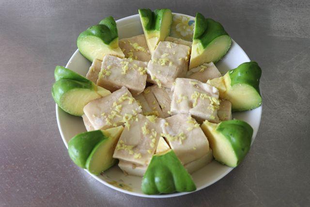 姜柄瓜蒸臭豆腐的做法图解