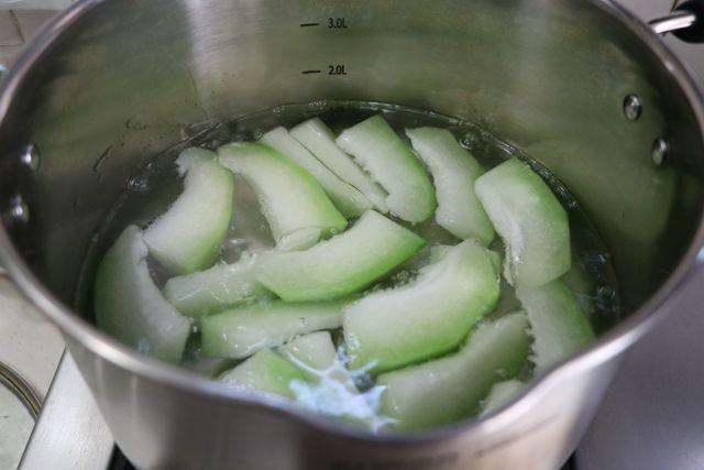 平菇冬瓜汤的家常做法