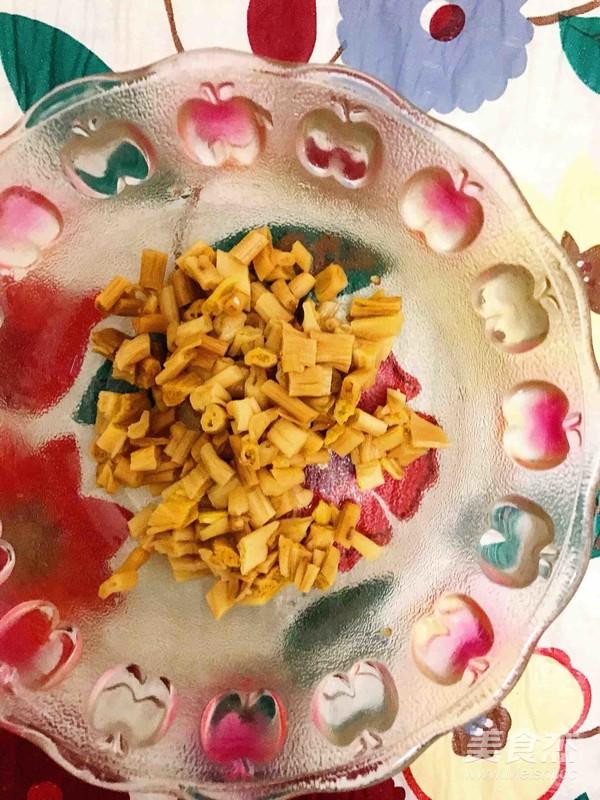 香菇肉沫豆腐脑的家常做法