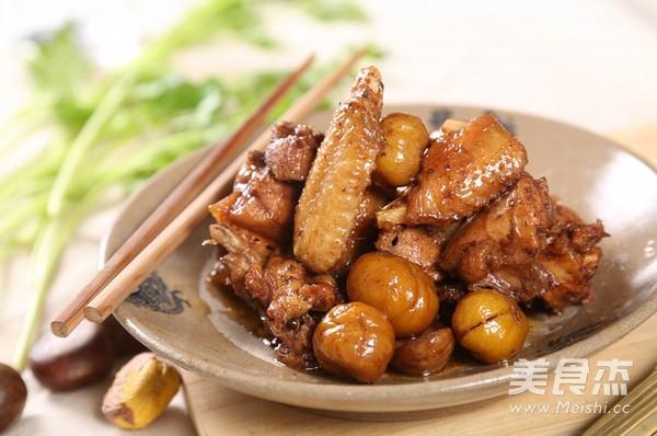 栗子焖鸡怎么吃