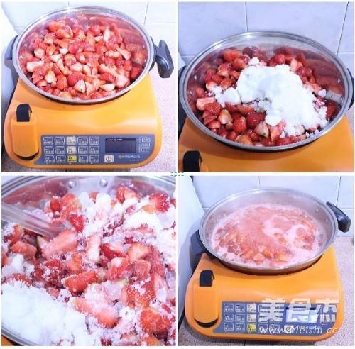 懒人版草莓酱的做法图解