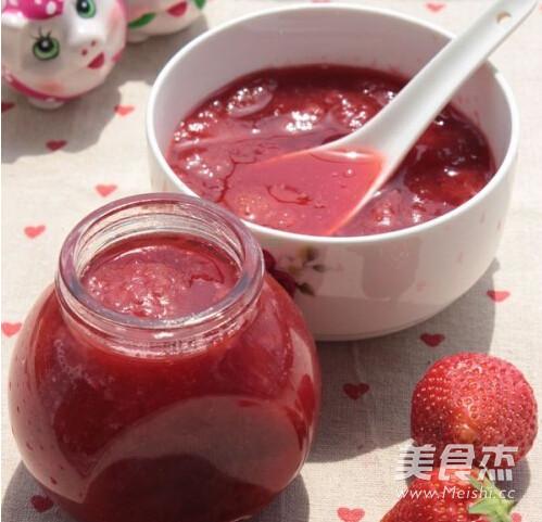 懒人版草莓酱的家常做法