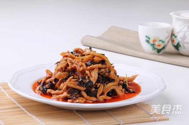 鱼香肉丝—捷赛私房菜怎么吃