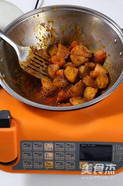 咖喱土豆的简单做法