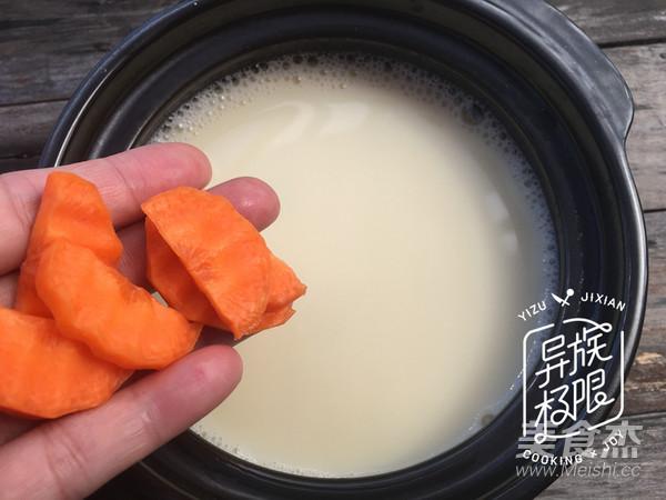豆浆黄鱼汤的步骤
