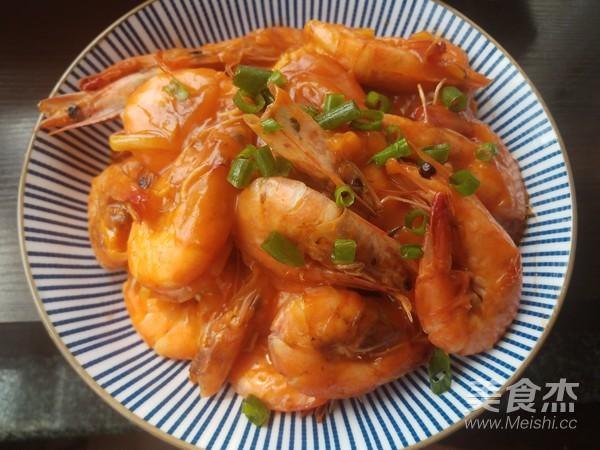 茄汁大虾怎样做